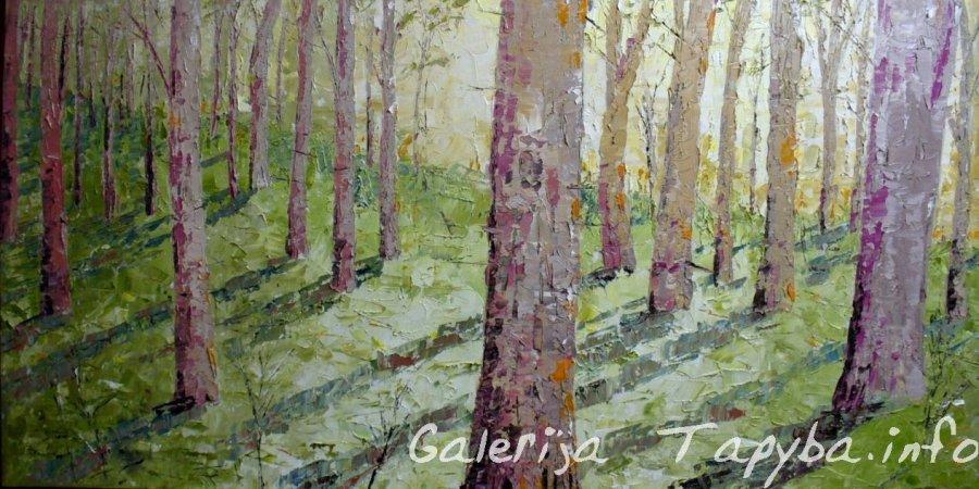 Paslaptingas miškas III