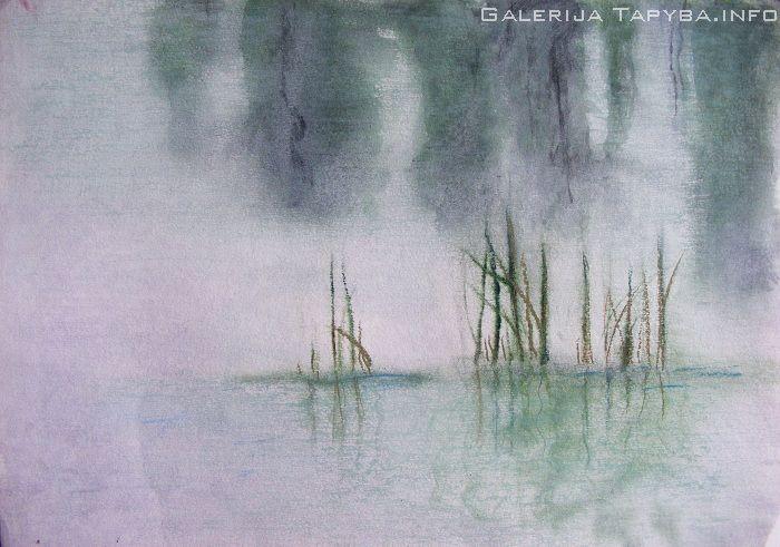 Šešėliai virš ežero