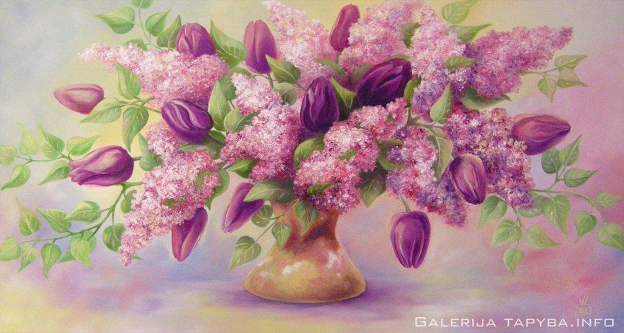 Alyvos ir tulpės