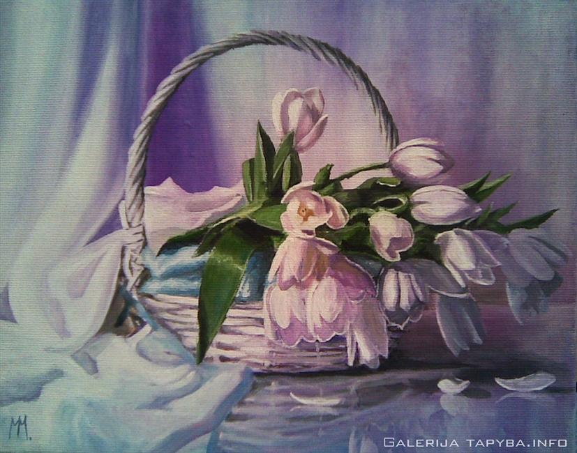 Tulpių krepšelis