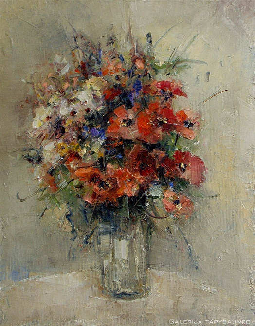 Natiurmortas. Gėlės VI