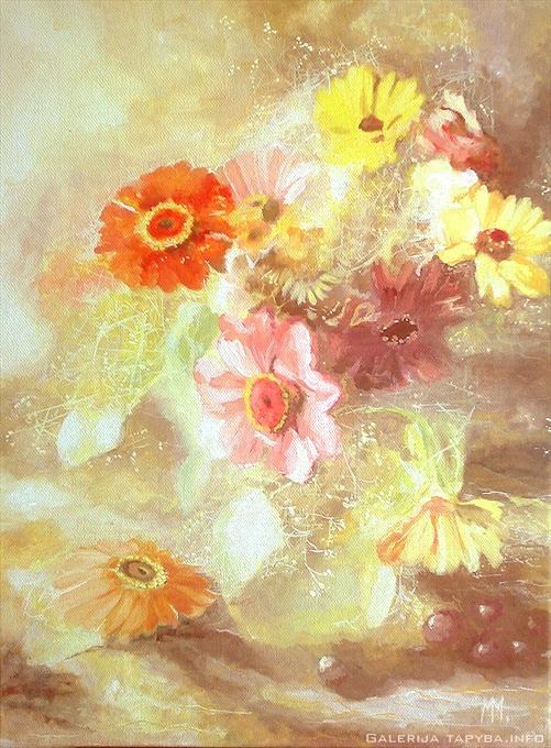 Spalis gėlėse