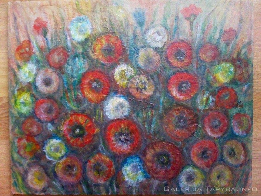 Lauko gėlės