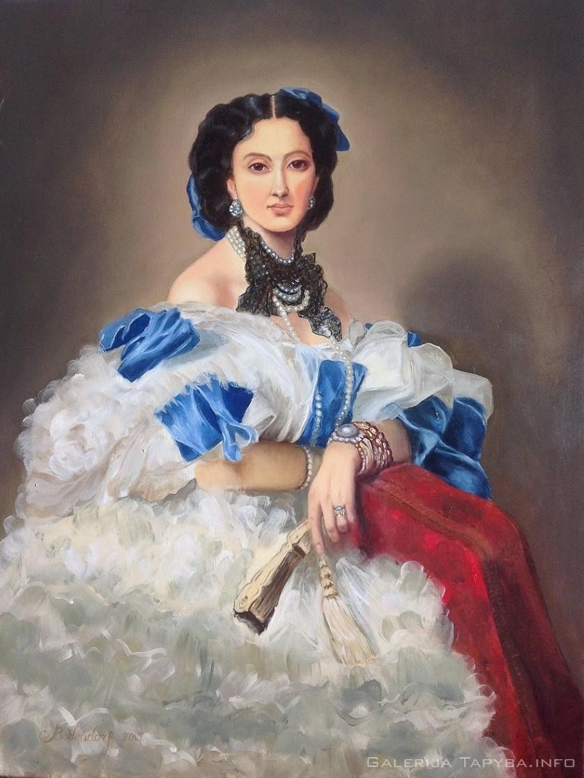 Moters portretas II