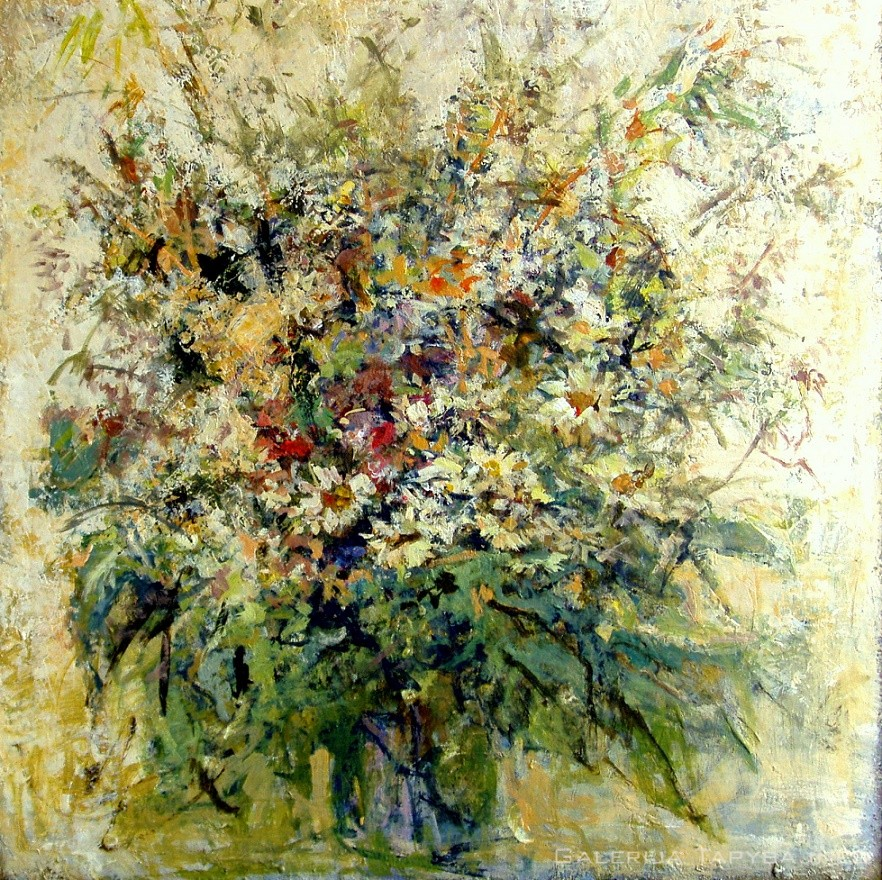 Laukinių gėlių puokštė IV