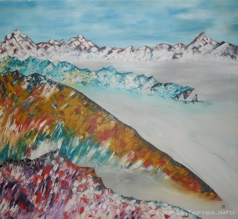 Alpėse