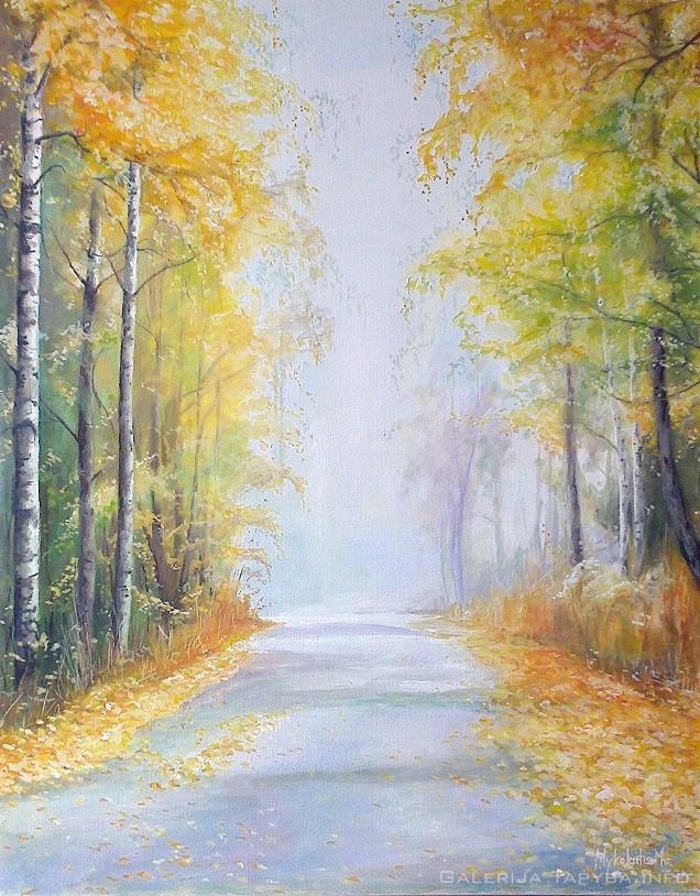 Vaikščiojimas su rudeniu