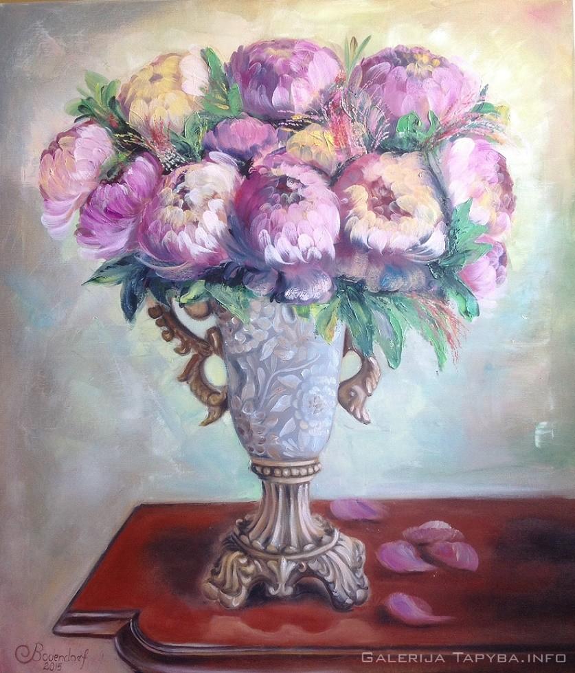 Violetinė puokštė