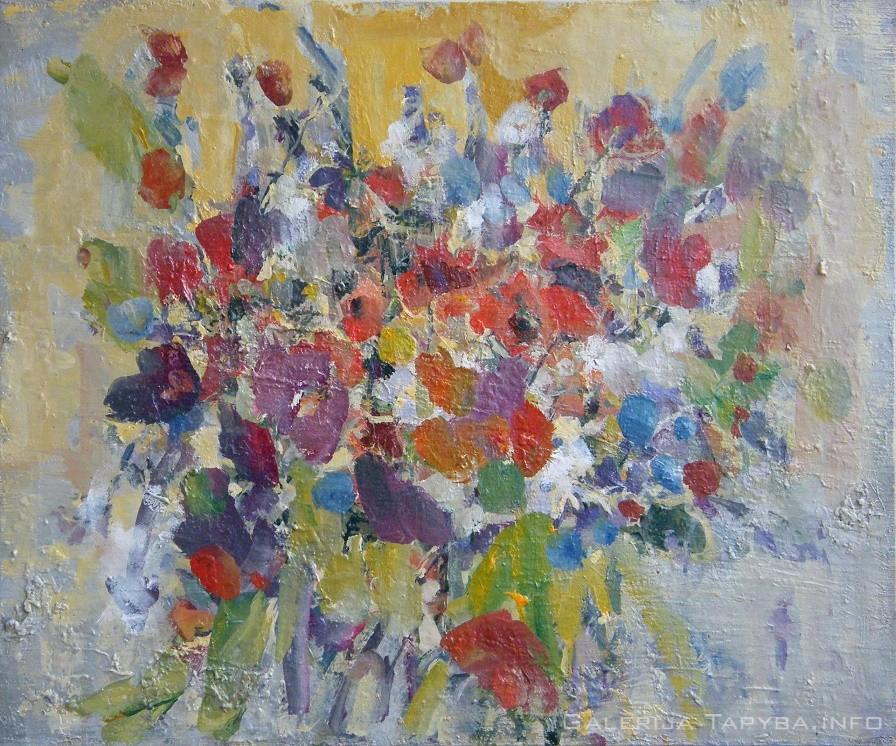 Natiurmortas. Gėlės XII
