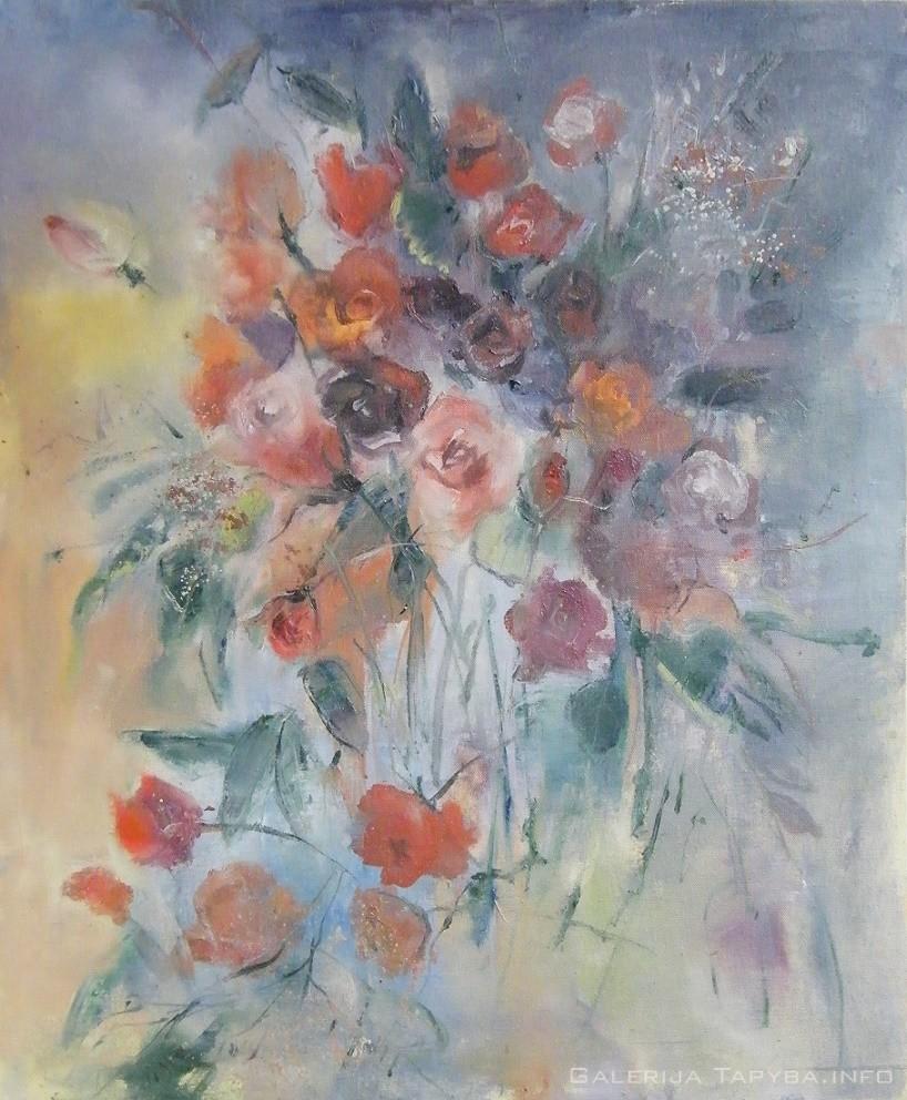 Natiurmortas. Gėlės XV