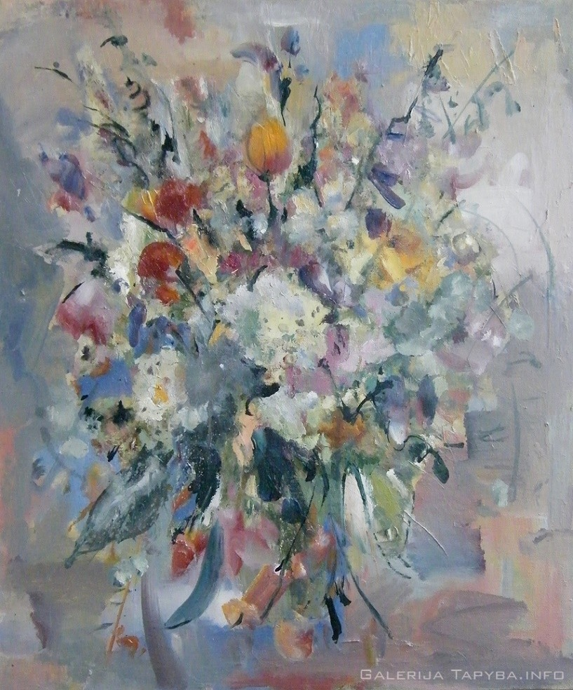 Natiurmortas. Gėlės XIII
