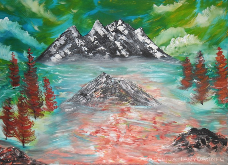 Audra kalnuose
