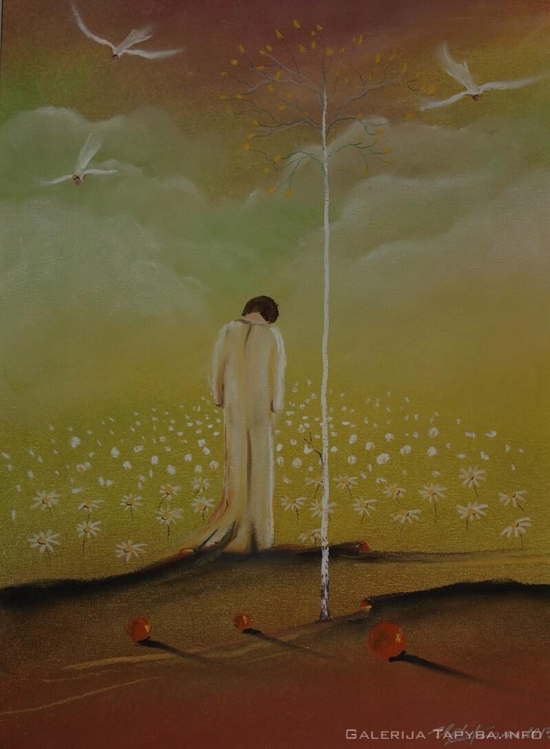 Iš ciklo Angelai – Ramunių pievoj