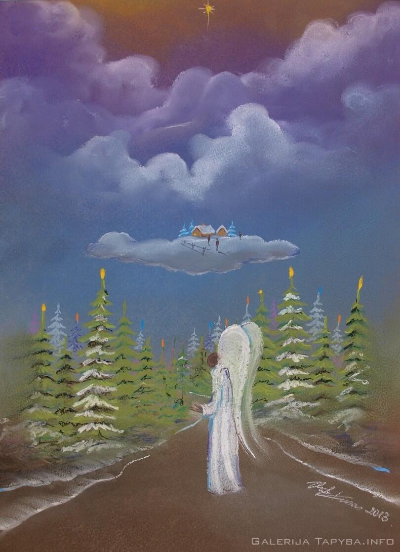 Iš ciklo Angelai – Ties gyvenimo sala