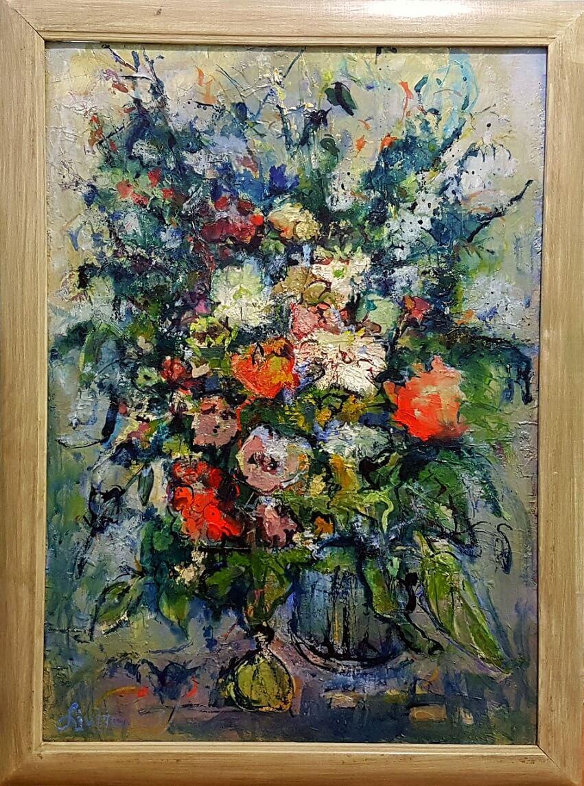 Natiurmortas. Gėlės XVIII