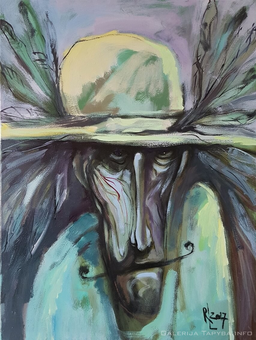 Skrybėlė ir ūsai II