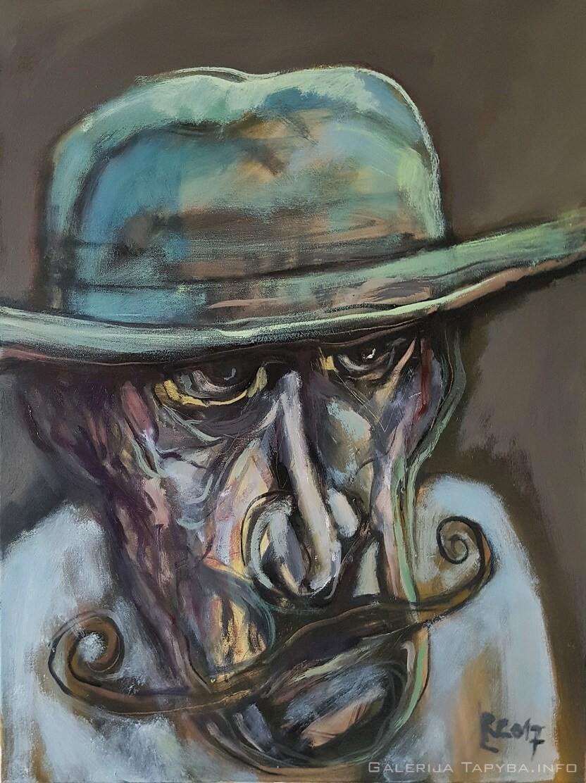 Skrybėlė ir ūsai III