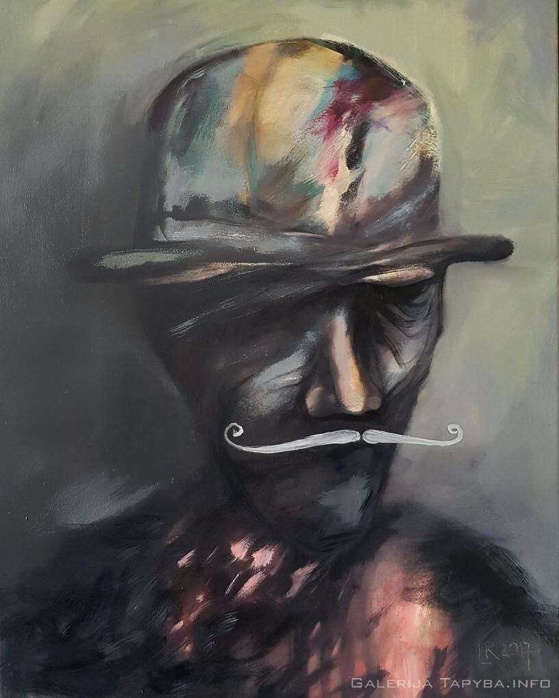 Skrybėlė ir ūsai IV