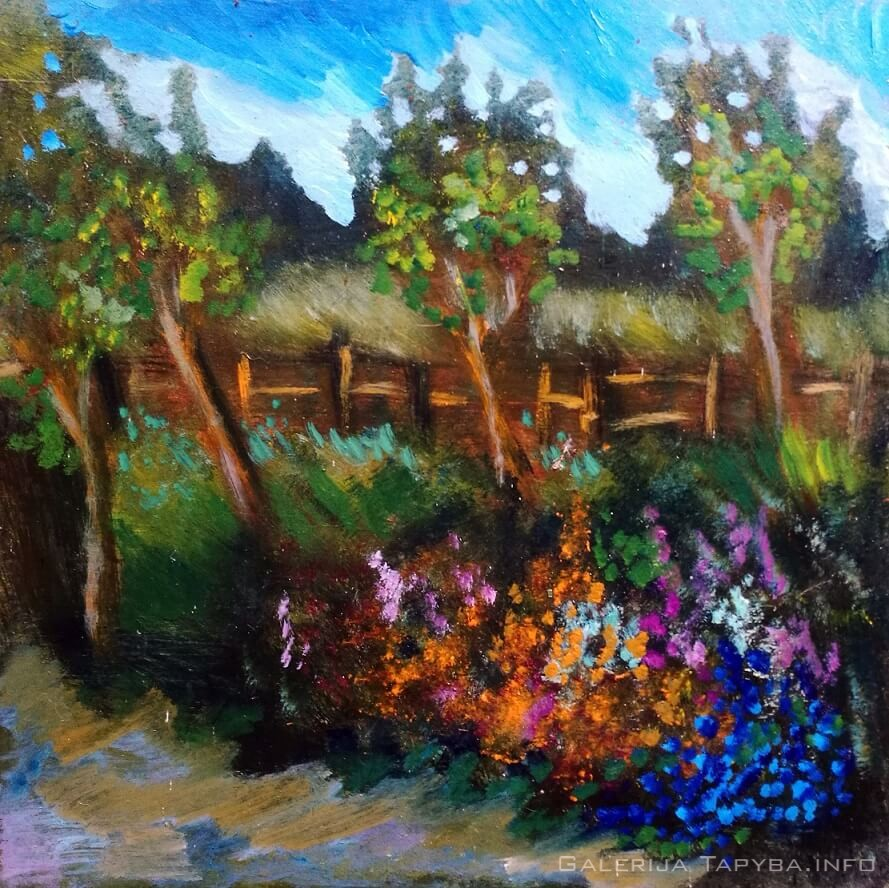 Gėlynas sode II