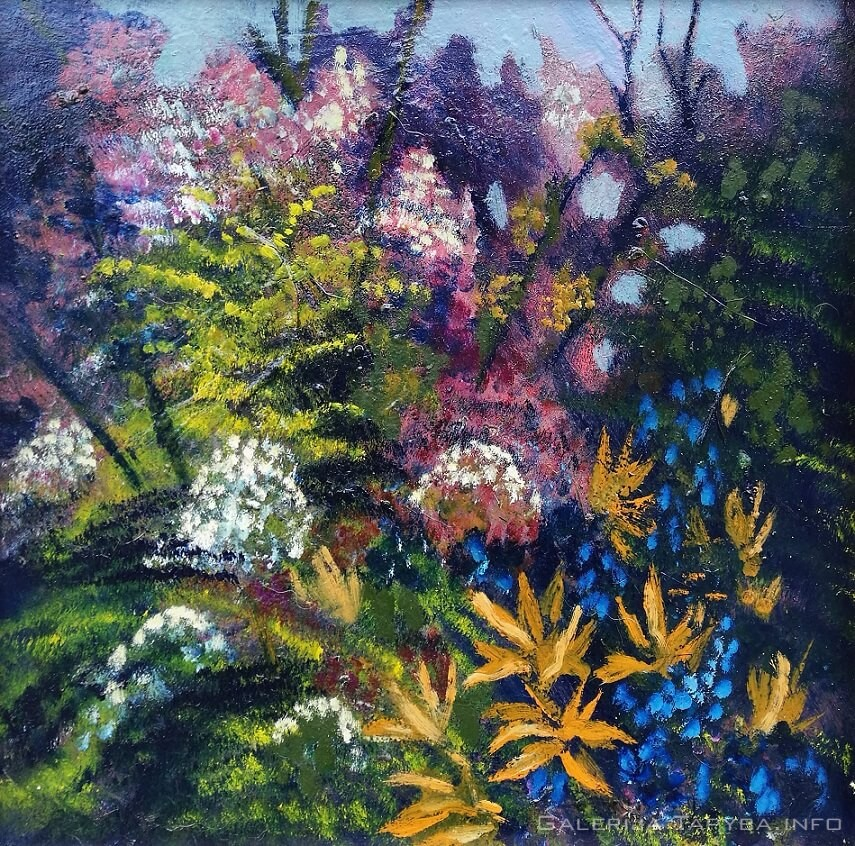 Gėlynas sode