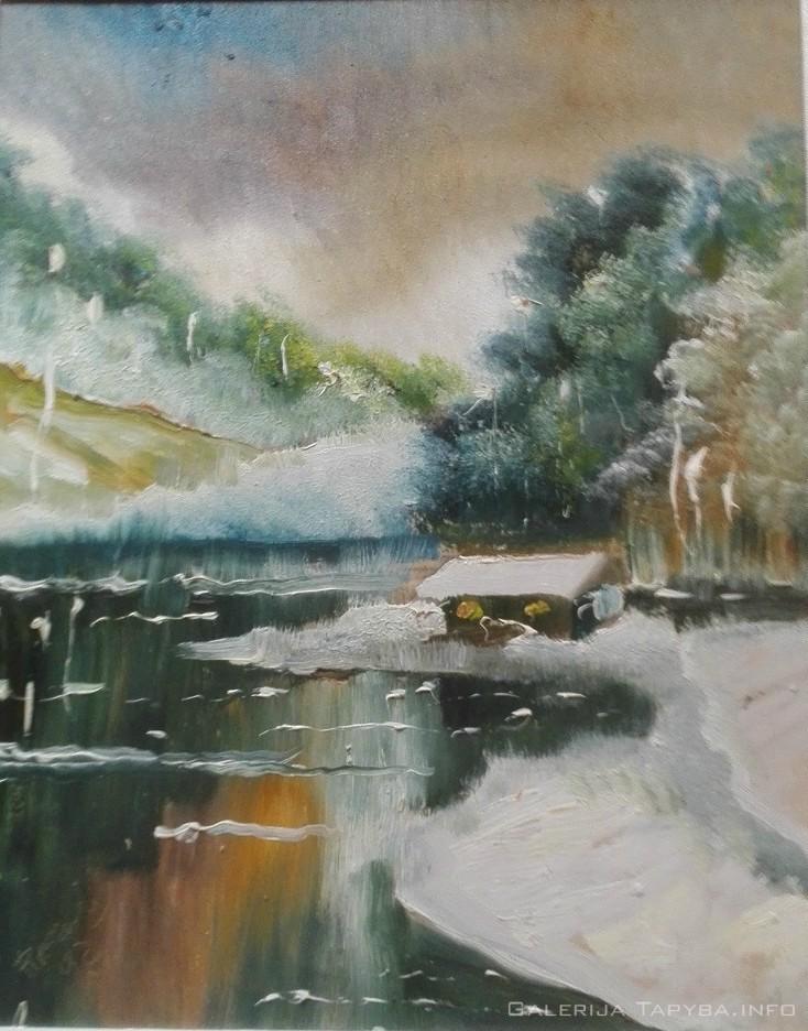 Žiemiškas peizažas