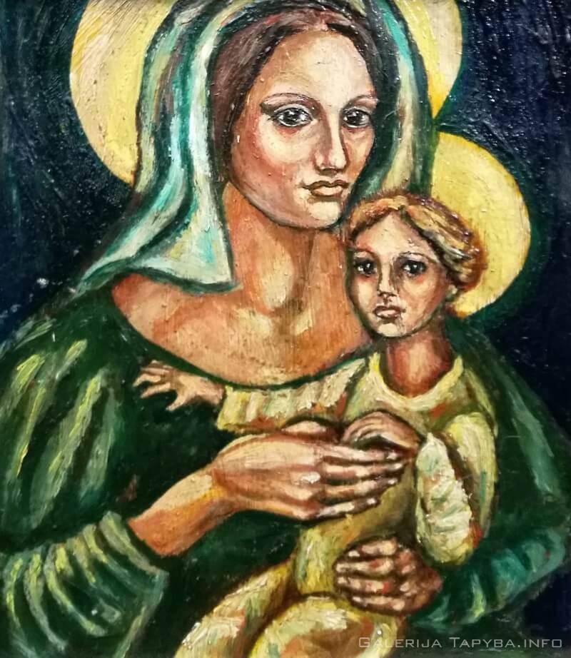 Marija su kūdikiu