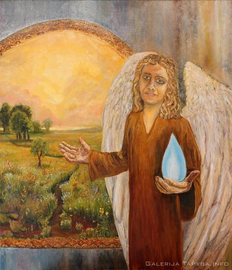 Arkangelas Urielis – Šviesos spindulys