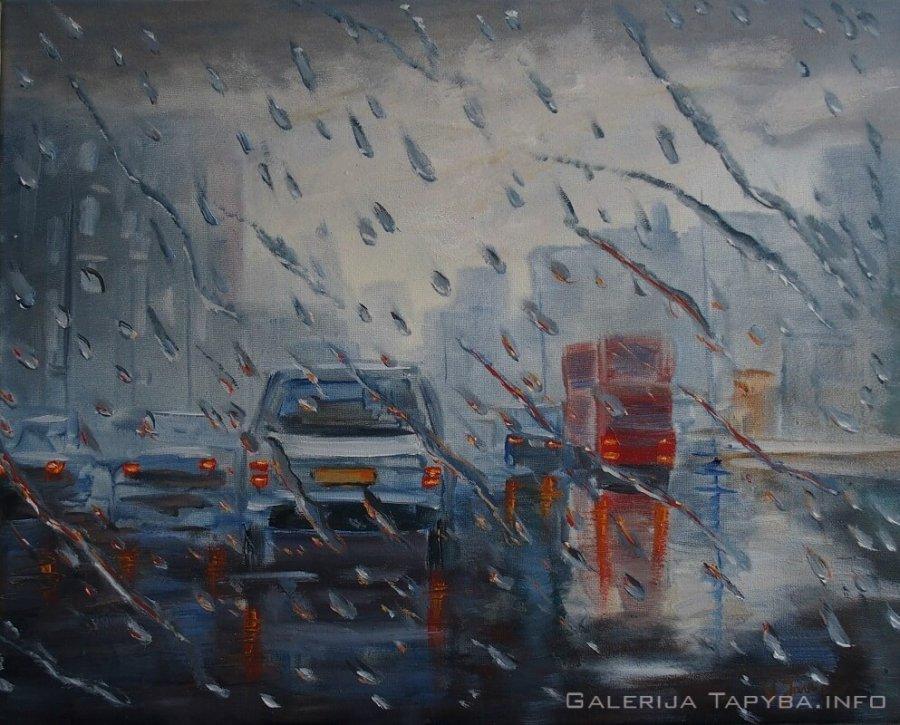 Lietus mieste