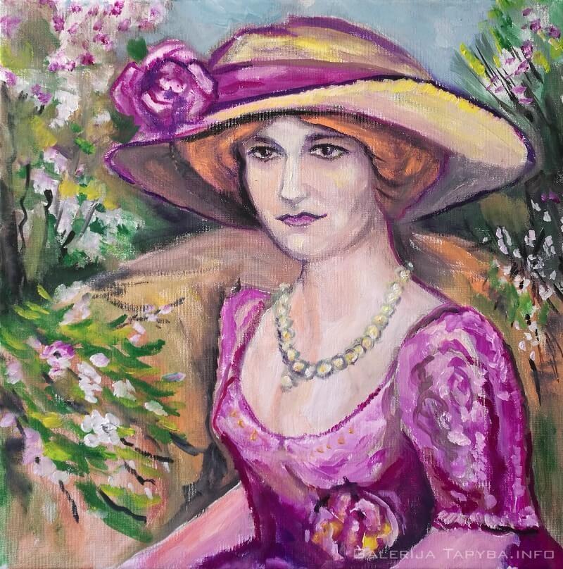 Panelė sode
