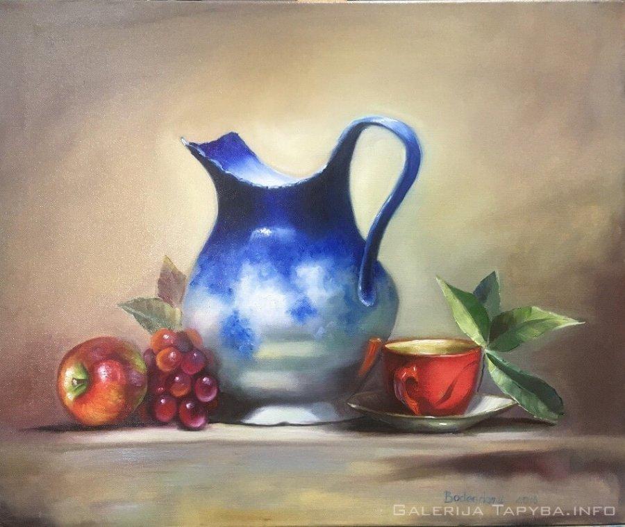 Raudonasis puodelis