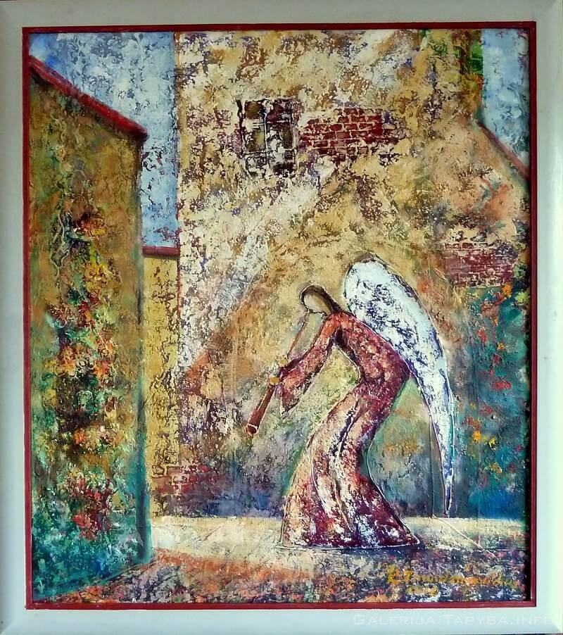 Senamiesčio angelas III