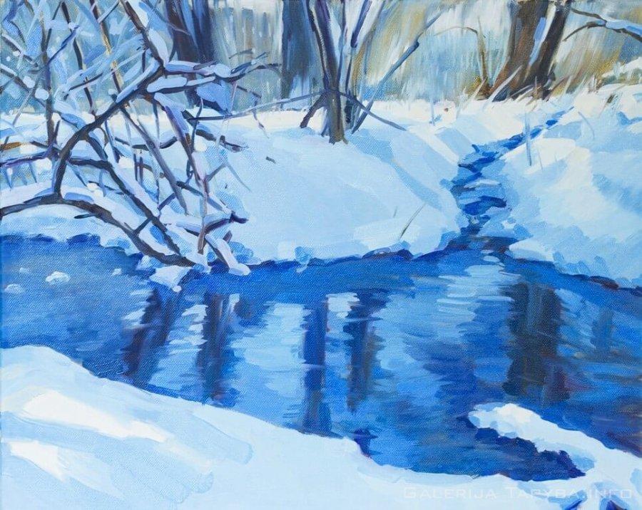 Žiemos upelis