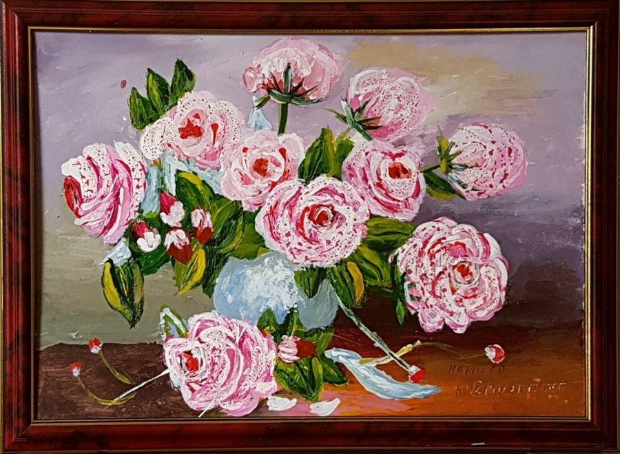 Rožinė puokštė