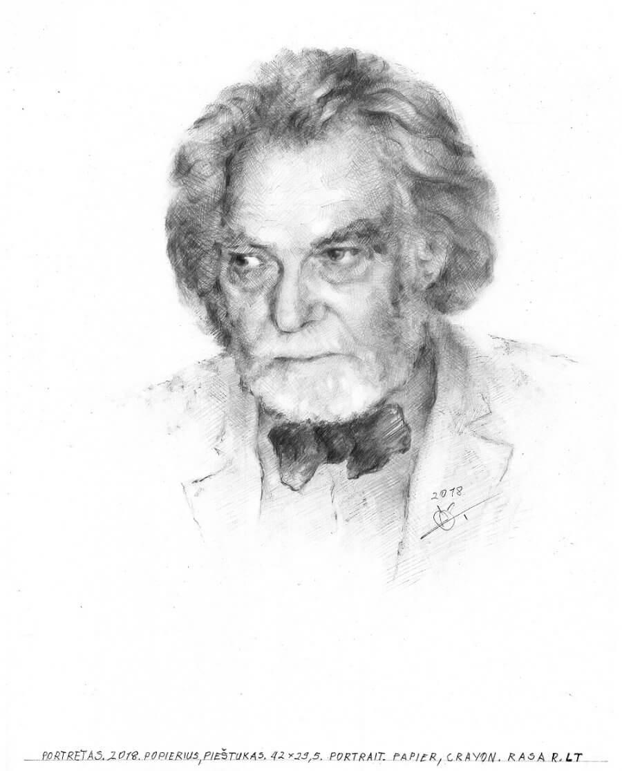 Portreto pagal užsakymą pvz. III
