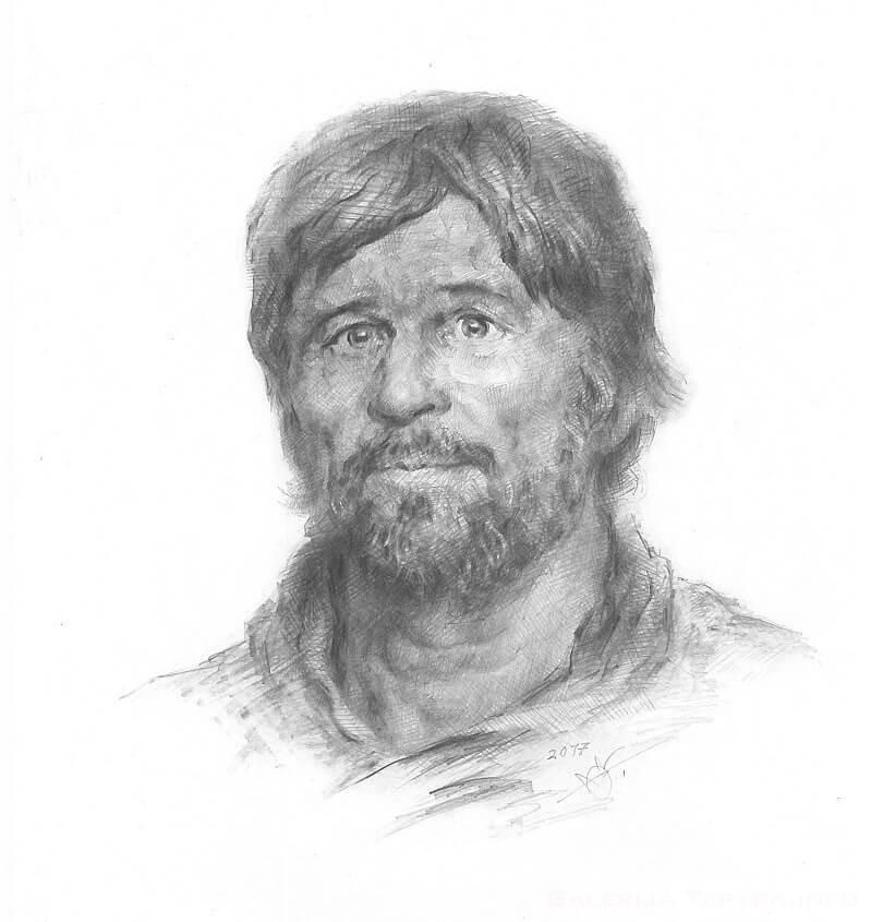 Portreto pagal užsakymą pvz. II