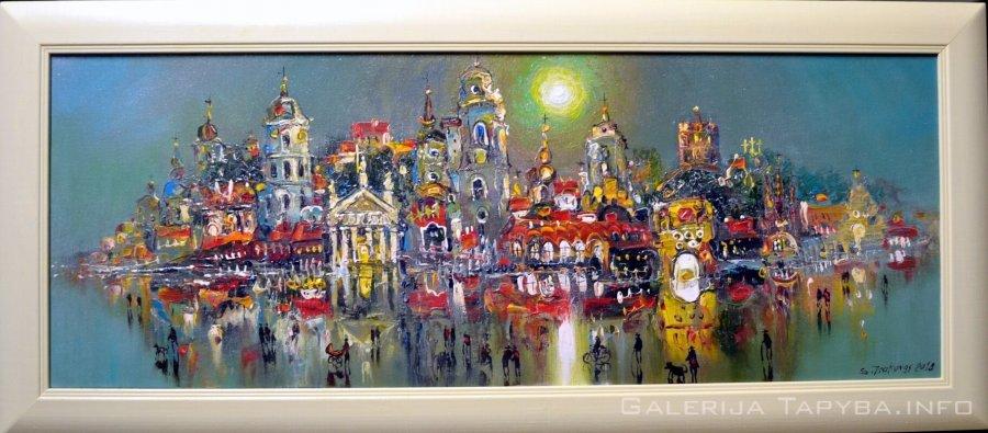 Vilniaus panorama VIII