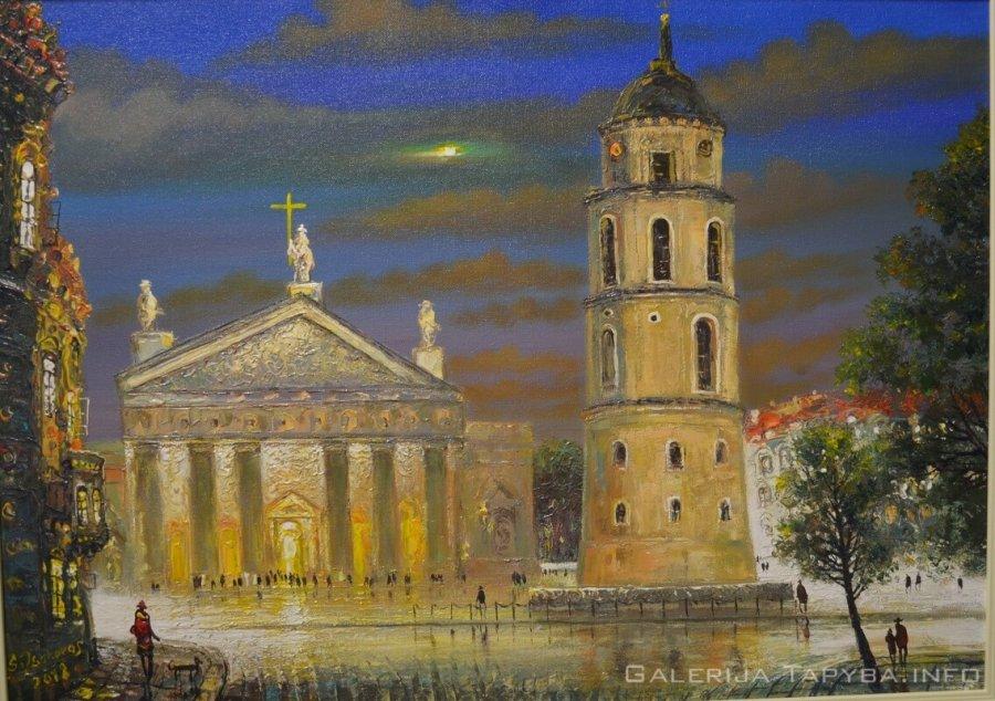 Vilniaus Katedra. Vakaras