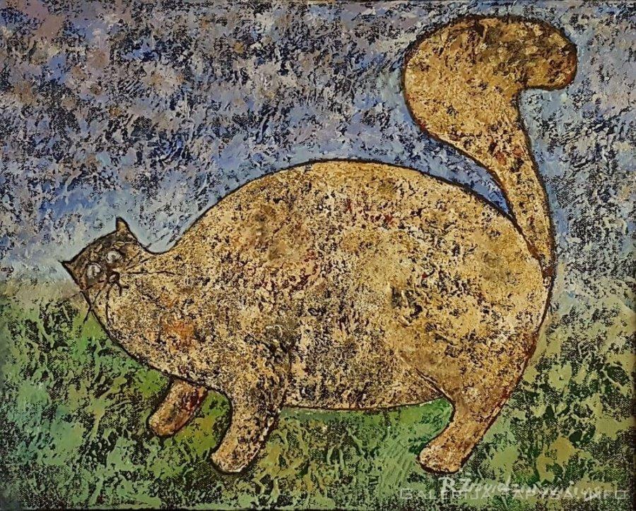 Auksinis katinas