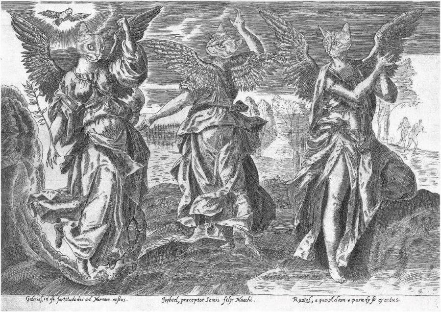 Improvizacija angelų tema