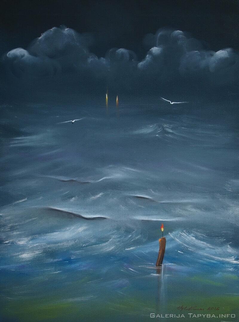 Jūra būna visokia III