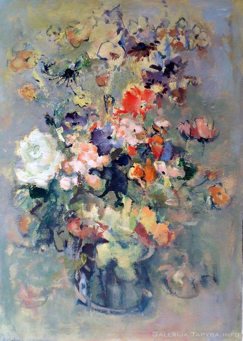 Vidurvasario gėlės