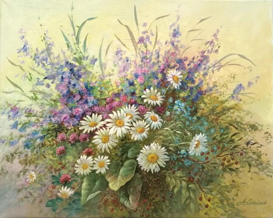 Vasarinės gėlės