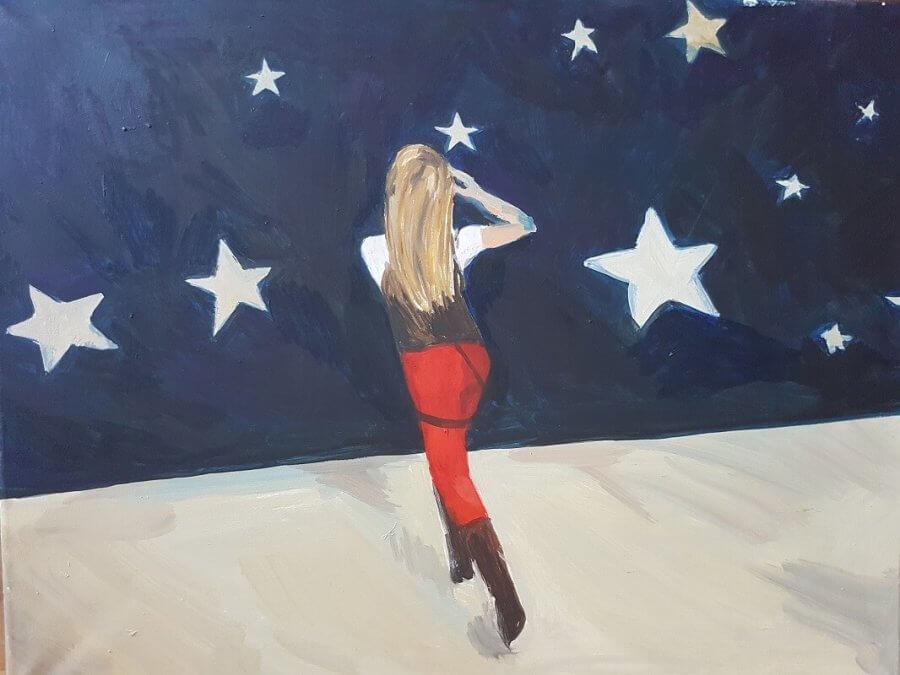Bėganti į žvaigždes