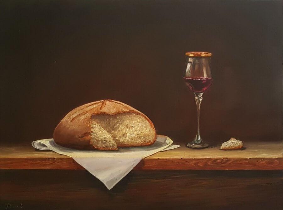 Pasidalinti duona ir vynu