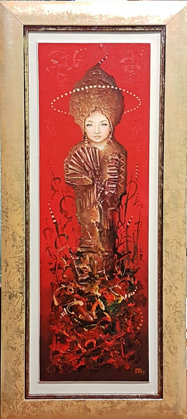Raudonoji dama