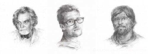 portretų piešimas pagal užsakymą