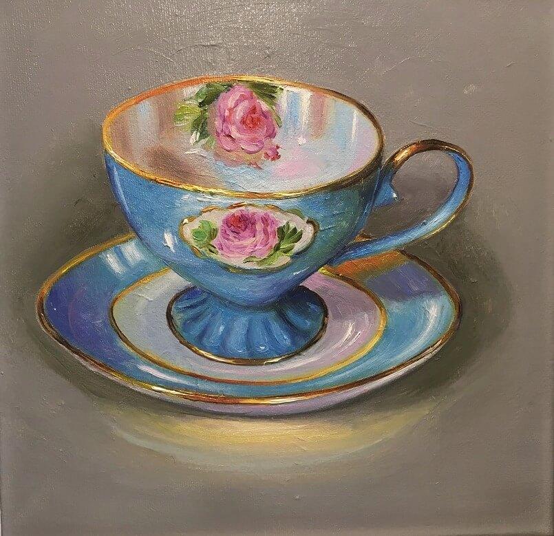 Žydrasis puodelis