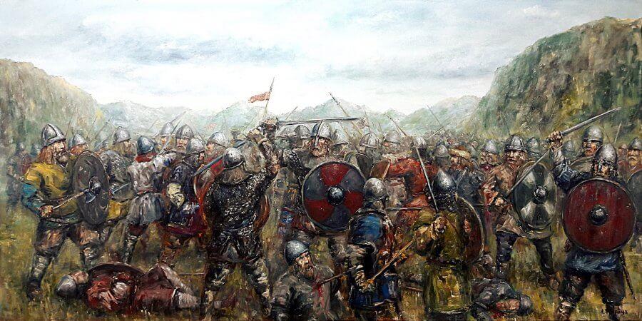 Vikingų mūšis