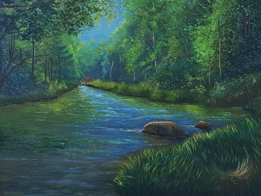 Miško upelis