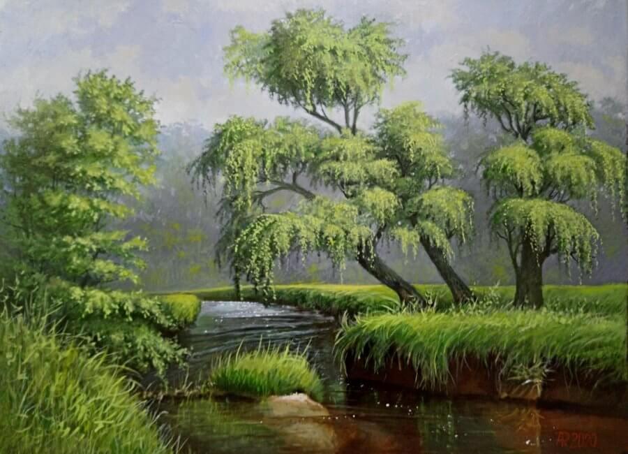 Prie upės